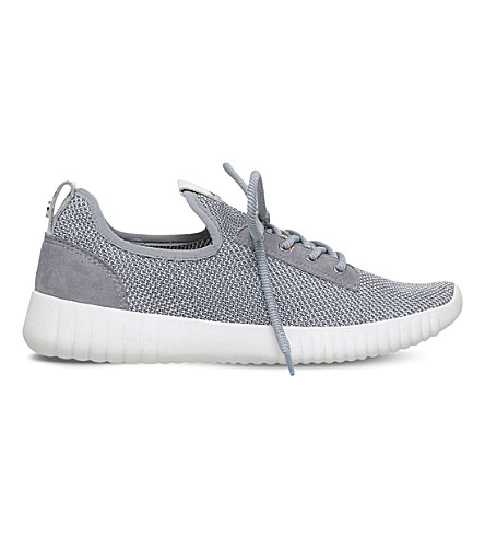CARVELA Limped mesh trainers (Grey