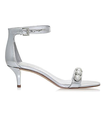 NINE WEST Lipstick embellished heel (Silver