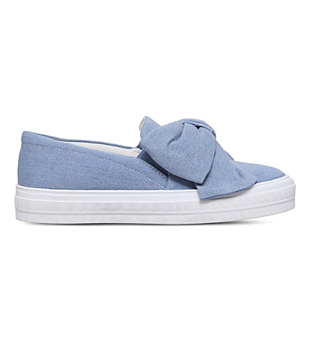 NINE WEST Onasha denim slip-on trainers (Denim