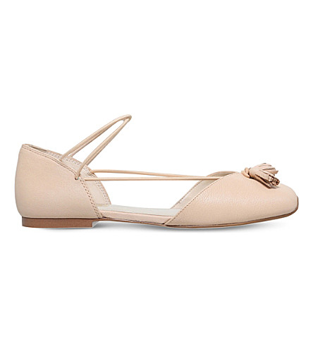 NINE WEST Zaina leather ballet flats