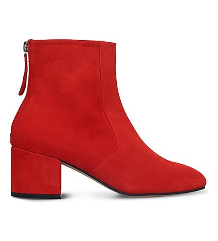 CARVELA Slim suede ankle boots