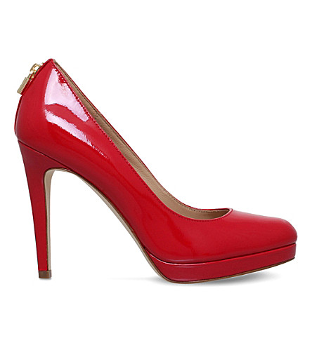 MICHAEL MICHAEL KORS Antoinette leather courts (Red