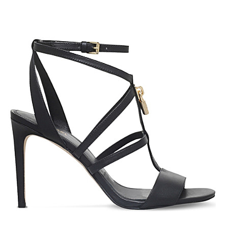 d05298b1e20b MICHAEL MICHAEL KORS Antoinette leather sandals (Black