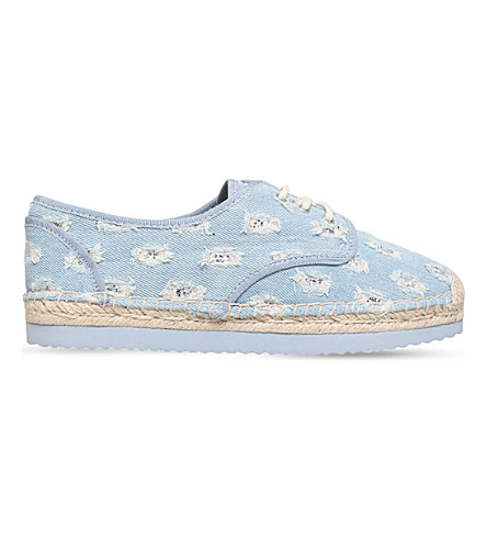 MICHAEL MICHAEL KORS Hastings denim espadrilles (Denim