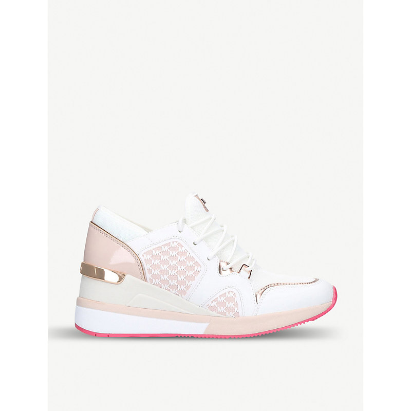 Scout monogram mesh trainers