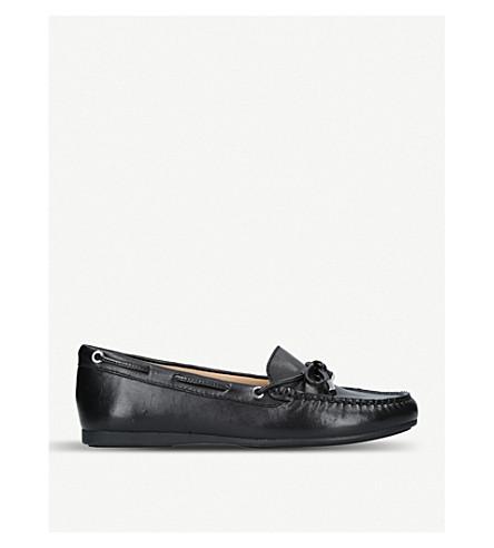 MICHAEL MICHAEL KORS Sutton leather moccasins (Black