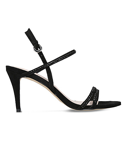 NINE WEST Delilah embellished sandals (Black