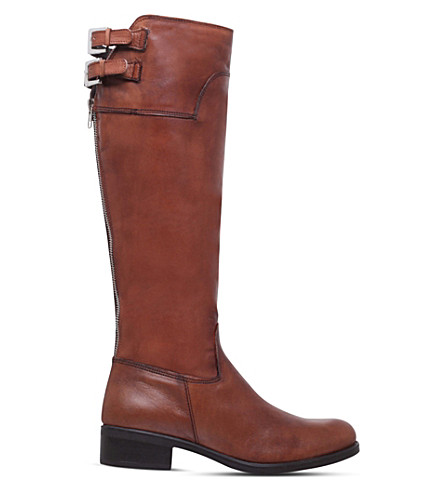CARVELA Weather knee-high leather boots