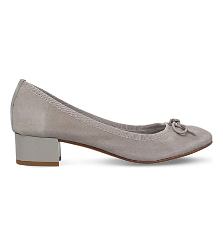 NINE WEST Saray suede courts (Grey