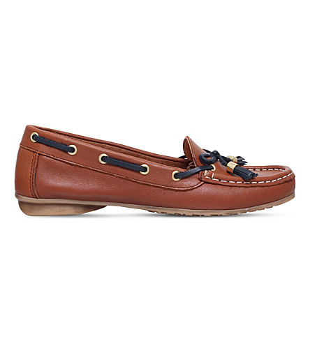 NINE WEST Jerry leather loafers (Tan