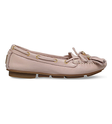 CARVELA Line leather moccasins (Nude
