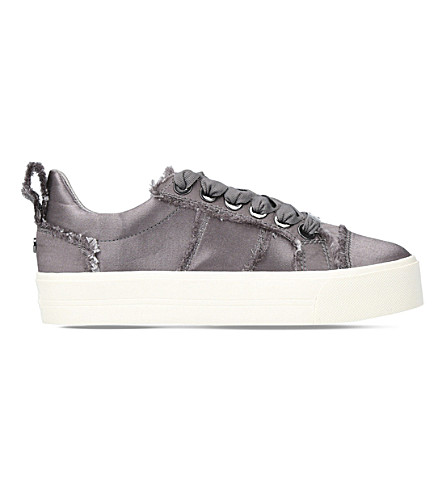 CARVELA Latimer satin trainers (Grey