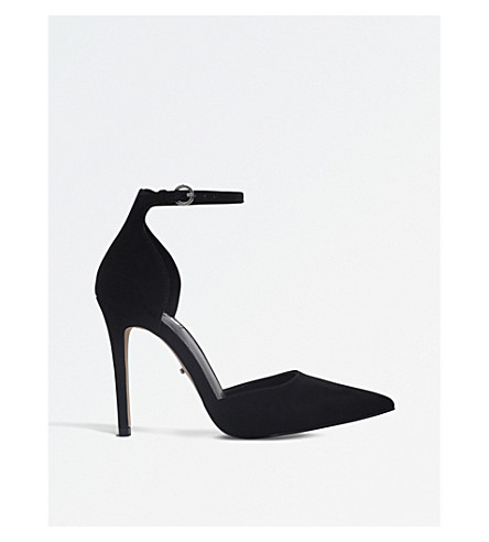 CARVELA Adalyn suedette court shoes (Black