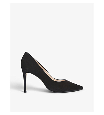 CARVELA Alison suede courts (Black