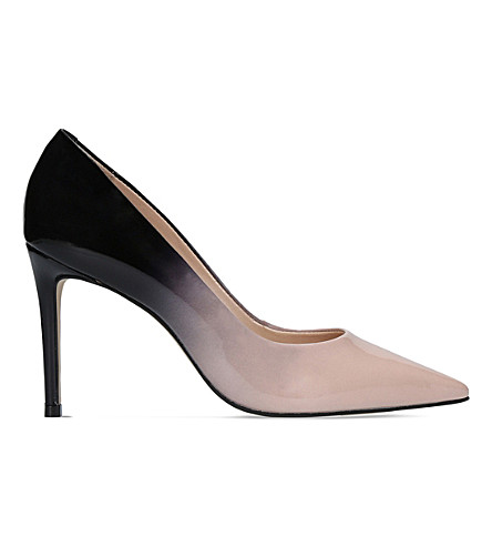 CARVELA Alison patent-leather ombré courts (Beige