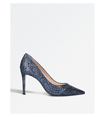 CARVELA Alison glitter court shoes (Teal