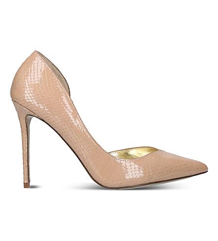 CARVELA Apple leather heels (Nude