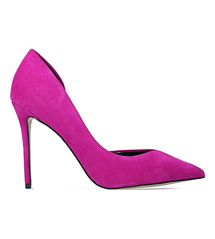 CARVELA Apple suede heels (Pink