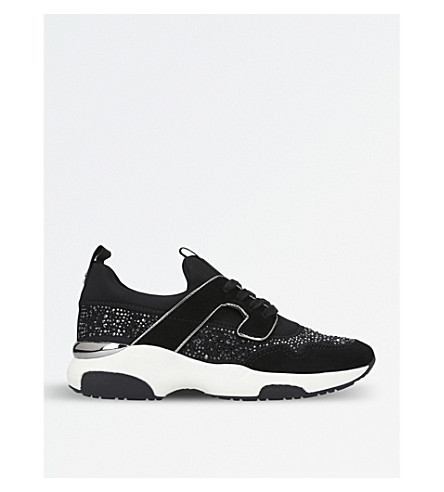 CARVELA Longitude low-top trainers (Black