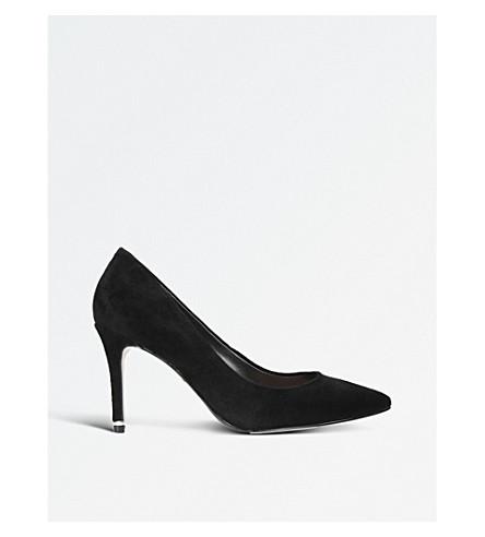 CARVELA 阿鲁巴绒面革宫廷鞋 (黑色