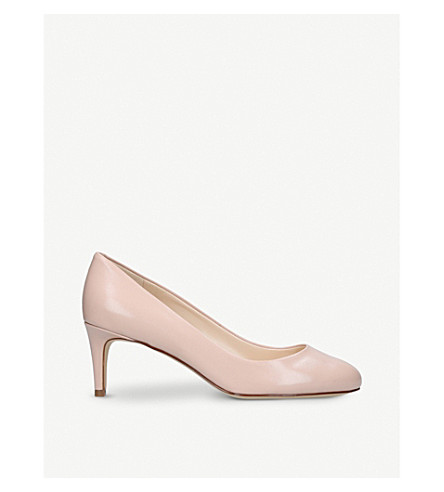 NINE WEST Cassidy leather courts (Nude