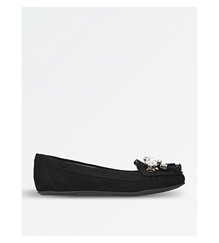 CARVELA Leafy textile shoes (Black