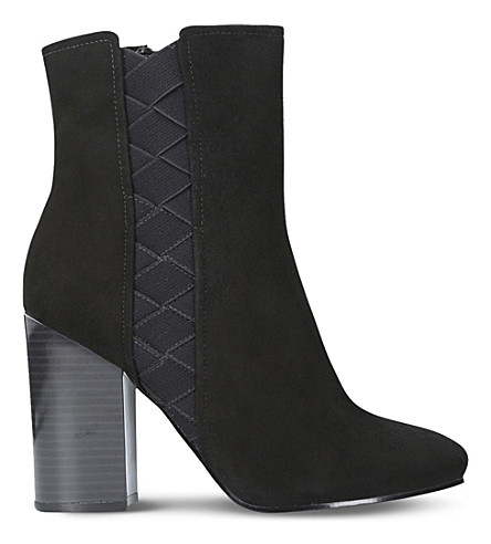NINE WEST Carensa suede ankle boots (Black