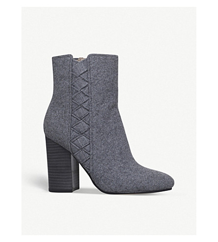 NINE WEST Carensa textile ankle boots (Grey