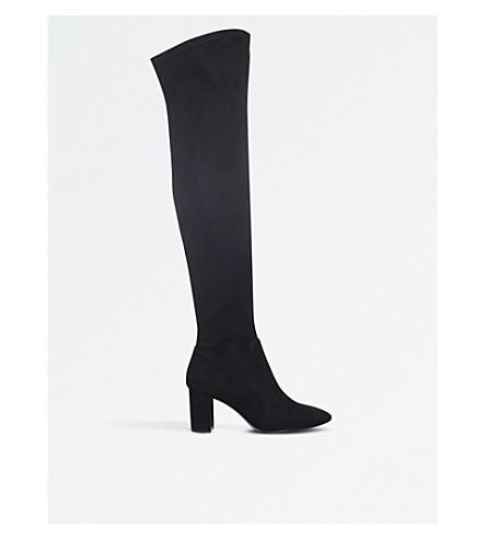 NINE WEST Xperion 膝靴子 (黑色