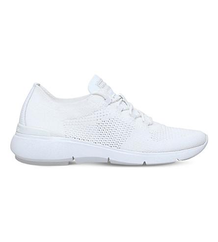MICHAEL MICHAEL KORS Skyler knit sneakers (White