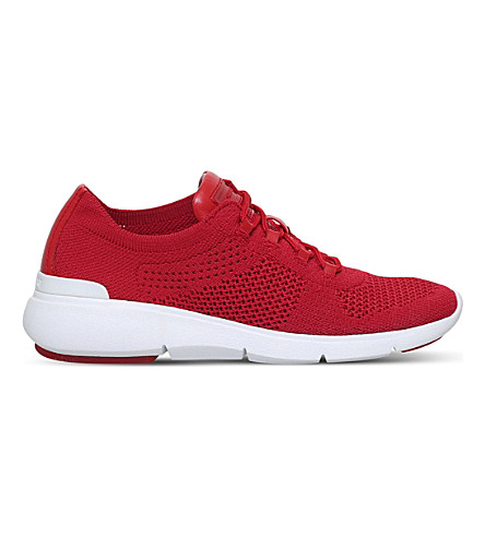 MICHAEL MICHAEL KORS Skyler knit trainers (Red