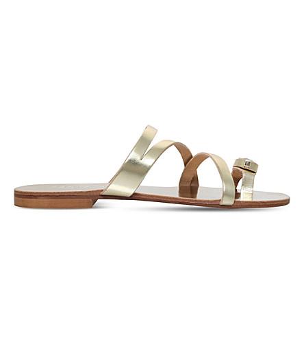CARVELA Klass metallic sandals (Gold