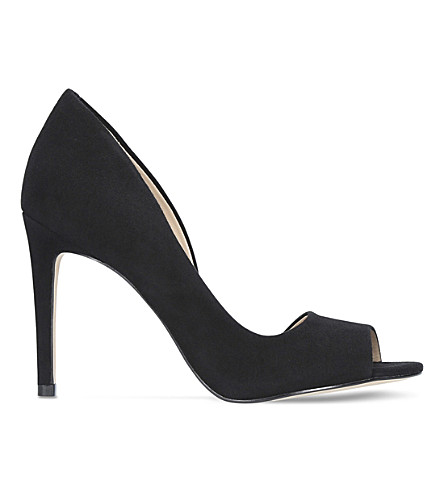 CARVELA Glaze suede sandals (Black