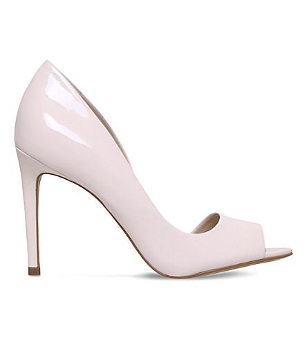 CARVELA Glaze patent sandals (Nude