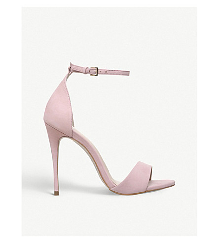 CARVELA Glimmer leather sandals (Nude