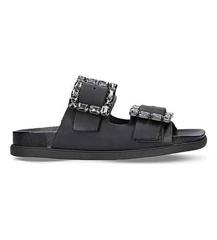 CARVELA Kash leather sandals (Black