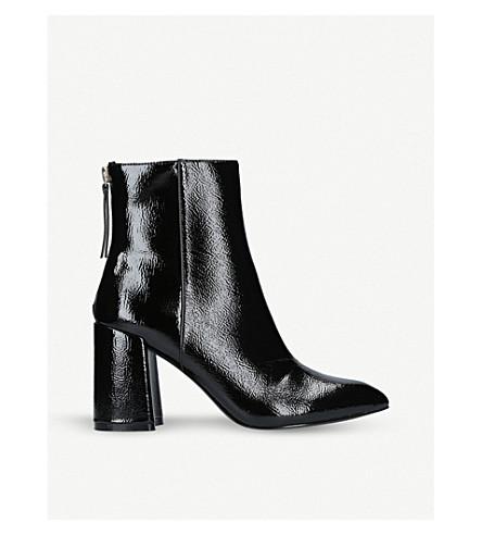 MISS KG Secret patent boots (Black/comb