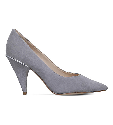 NINE WEST Whistles suede court shoes (Grey