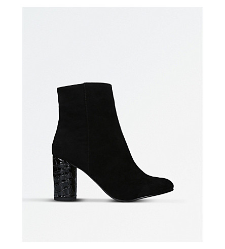 CARVELA Smiling heeled ankle boots (Black
