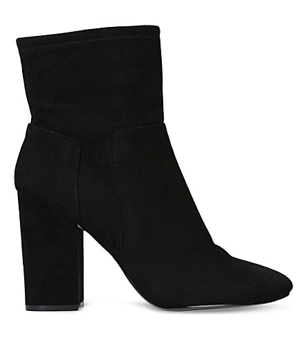 NINE WEST Corban faux-suede ankle boots (Black