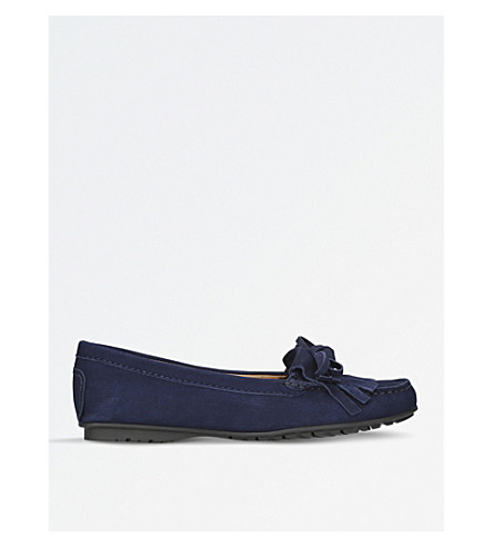 CARVELA COMFORT Casey suede loafers (Navy