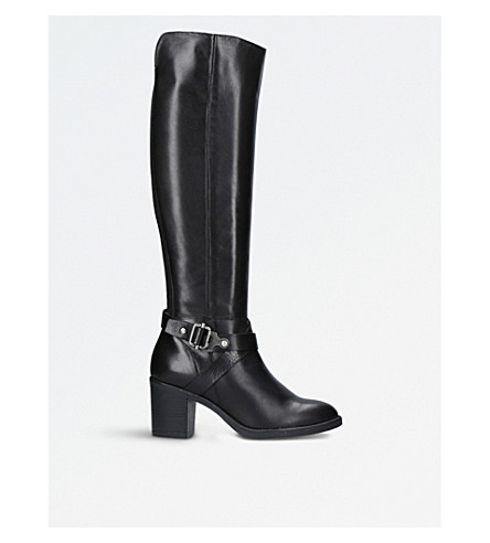 CARVELA COMFORT Verona leather boots (Black