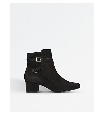 CARVELA COMFORT Renee suede ankle boots (Black