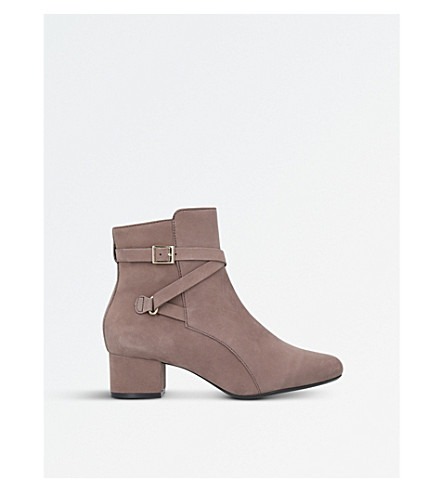 CARVELA COMFORT Renee suede ankle boots (Taupe