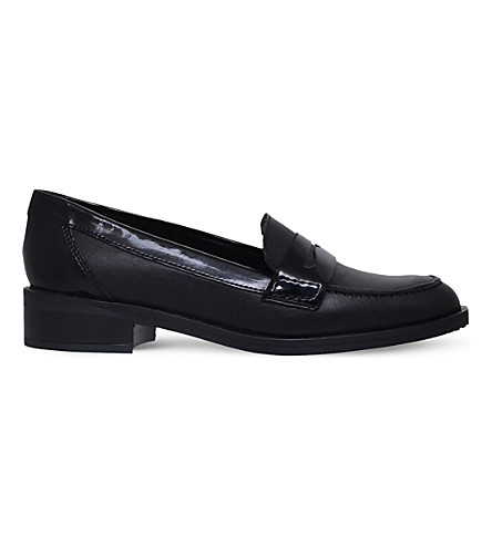 CARVELA Lynora leather loafers (Black