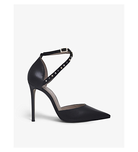 CARVELA Acid leather heels (Black