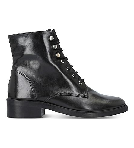 CARVELA Skewer leather boots (Black