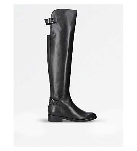 CARVELA War leather over-the-knee boots (Black