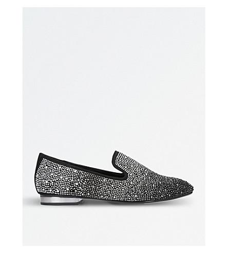 CARVELA Larkin embellished loafers (Black