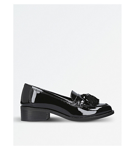 CARVELA Leanne patent loafers (Black